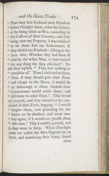 A New Account Of Some Parts Of Guinea & The Slave Trade -Page 171